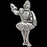 Unusual OOAK Figural Nobleman Figural Brooch