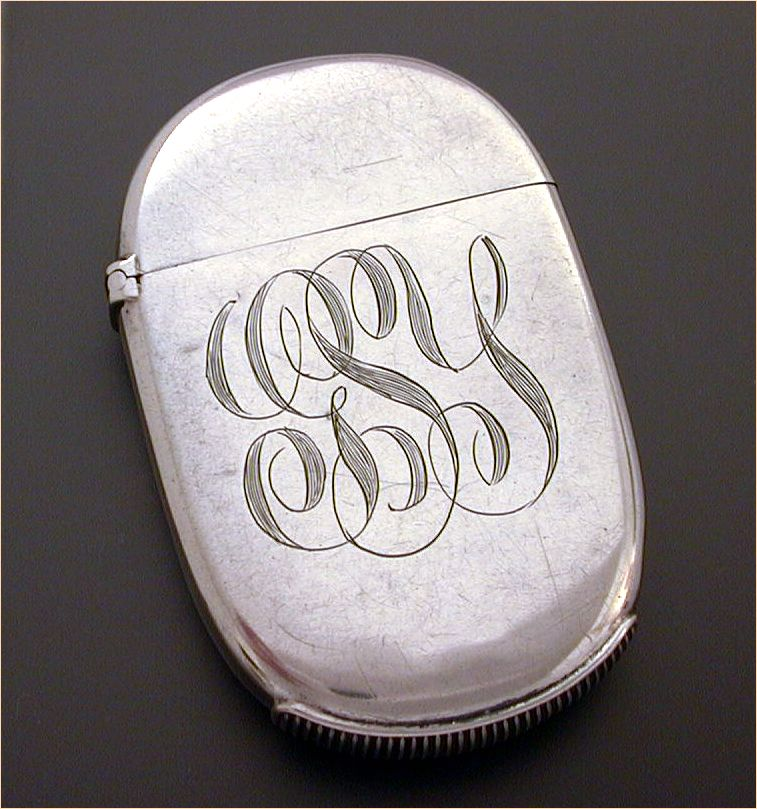 Elegantly Simple American Sterling Vesta or Match Safe by Whiting