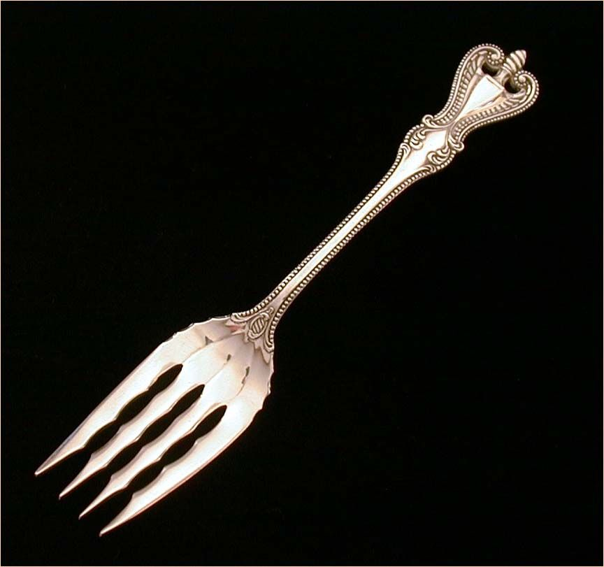 Towle Old Colonial Sterling Dessert or Salad Fork 6.25""