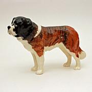 "Beswick Porcelain Saint Bernard Dog Figurine 5.5"" x 8"""