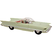 1956 Lincoln Futura Concept Car Plastic Model by Revell, Inspiration for Bat Mobile