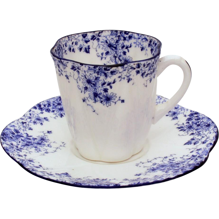 shelley dainty blue demitasse cup saucer shelley fine bone china from industrialblonde on. Black Bedroom Furniture Sets. Home Design Ideas