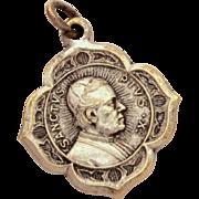 Pope Pius X Catholic Medal Confraternity of Christian Doctrine, Roman Catholic Medal