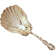 Antique Cracker Spoon Gorham Sterling Strasbourg, Early Hallmark, Pat. 1887