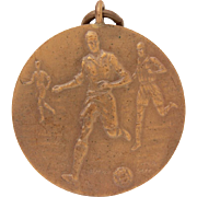 Bronze English Football Medal, Soccer Players, English Footballers