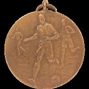 Bronze English Football Medal, Soccer Players, English Footballers