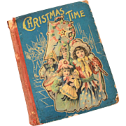 Antique Christmas Time Book Happy Holiday Series from MA Donohue Chicago