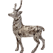 Cast Iron Deer Still Bank, Elk or Stag with Antlers