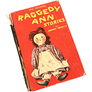 1918 Original Raggedy Ann Stories by Johnny Gruelle, Volland Hardback Book