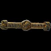 Victorian Bar Pin