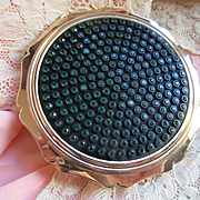 Vintage Stratton Jeweled Compact  English