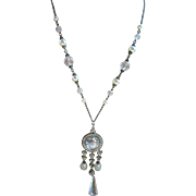 Vintage 1920s Czech Crystal Necklace