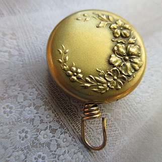 Antique Ketcham Mcdougall Chatelaine Pin