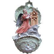 Older Vintage Holy Water Font