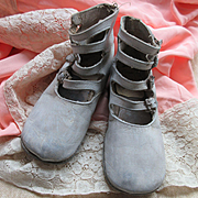 Vintage Baby Shoes Child's Shoes  Shabby Chic Decor