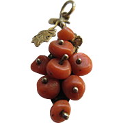 Antique Coral Charm - Red Tag Sale Item
