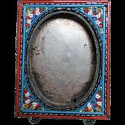 Older Vintage Italian Micro Mosaic Frame