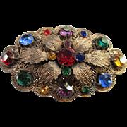 Vintage Jeweled Brooch