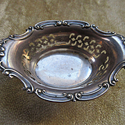 Vintage Sterling Open Salt or Dresser Tray