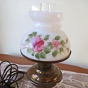 Vintage Miniature Student Lamp Electric Brass Lamp