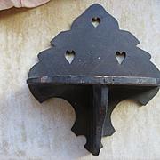 Antique Clock Shelf Small
