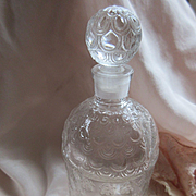 Vintage French Guerlain Imperial Bee Perfume Bottle with Stopper
