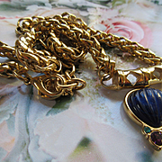 Vintage Givenchy Necklace 20''