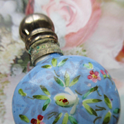 Antique Floral Perfume Bottle