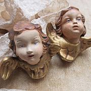 Older Vintage Pair of German Angels
