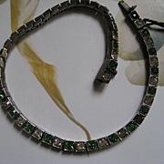 Sterling Paste Line Bracelet  1915