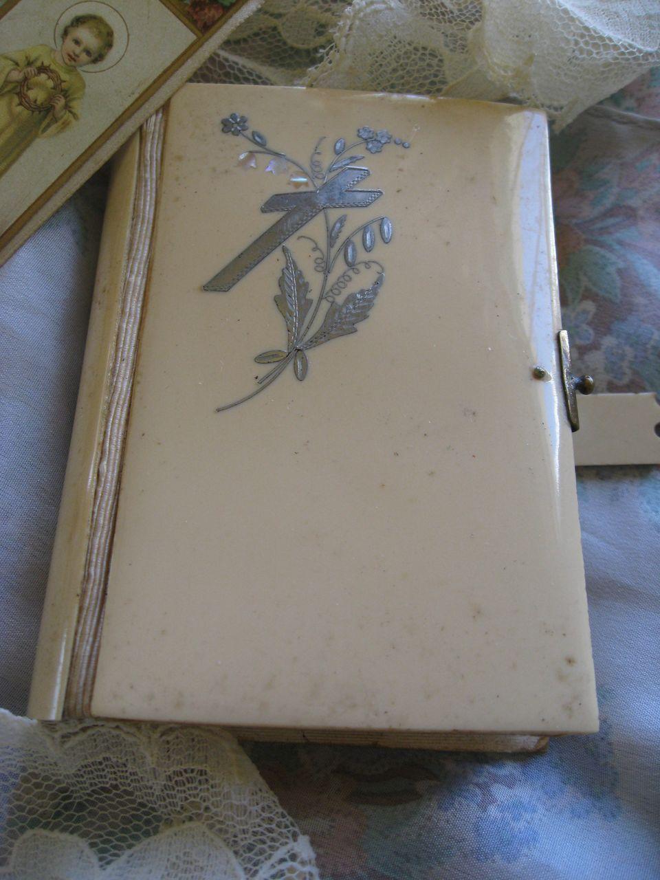 Tiny Wedding Bible  1865