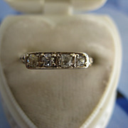 Older Vintage 14K Diamond Band