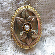 Victorian Etruscan Revival  Locket