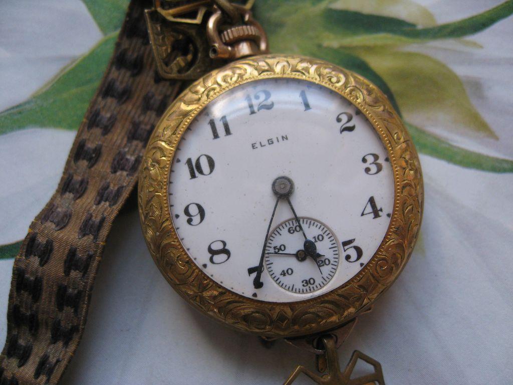 Elgin Wrist watch in Gold fill    TLC