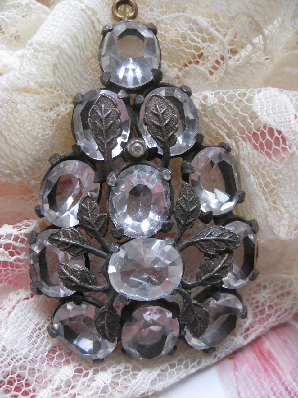 Circa 1930 Paste Pendant
