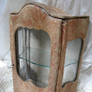 Antique Doll Size Vitrine circa 1890