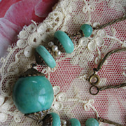 Peking Glass Necklace   circa 1930