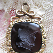 Antique Intaglio Watch Fob