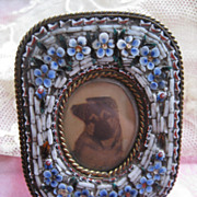 Miniature Mosaic Frame For Get Me Nots