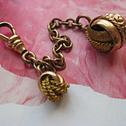 Victorian Watch Chain & Fob