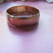 Lovely Old 14K Wedding Band