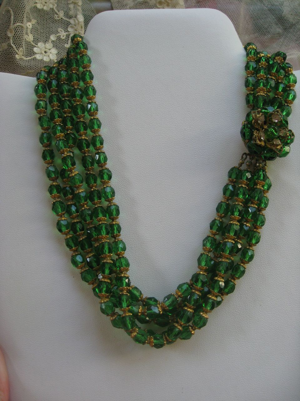 1940s Crystal Necklace