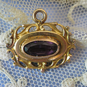 Victorian Slide Charm Fob