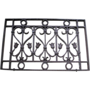 Antique Grate, Fencing, Restoration, Renovation, Shabby Chic, Cottage Style Decor, Architectural Salvage
