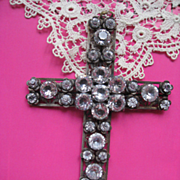 Vintage Paste Cross    4-1/4'' x 3''   Older Vintage