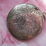 English Sterling Match Safe , Birmingham 1910