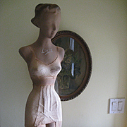 1930s Liane Lingerie Mannequin, Counter Top Display