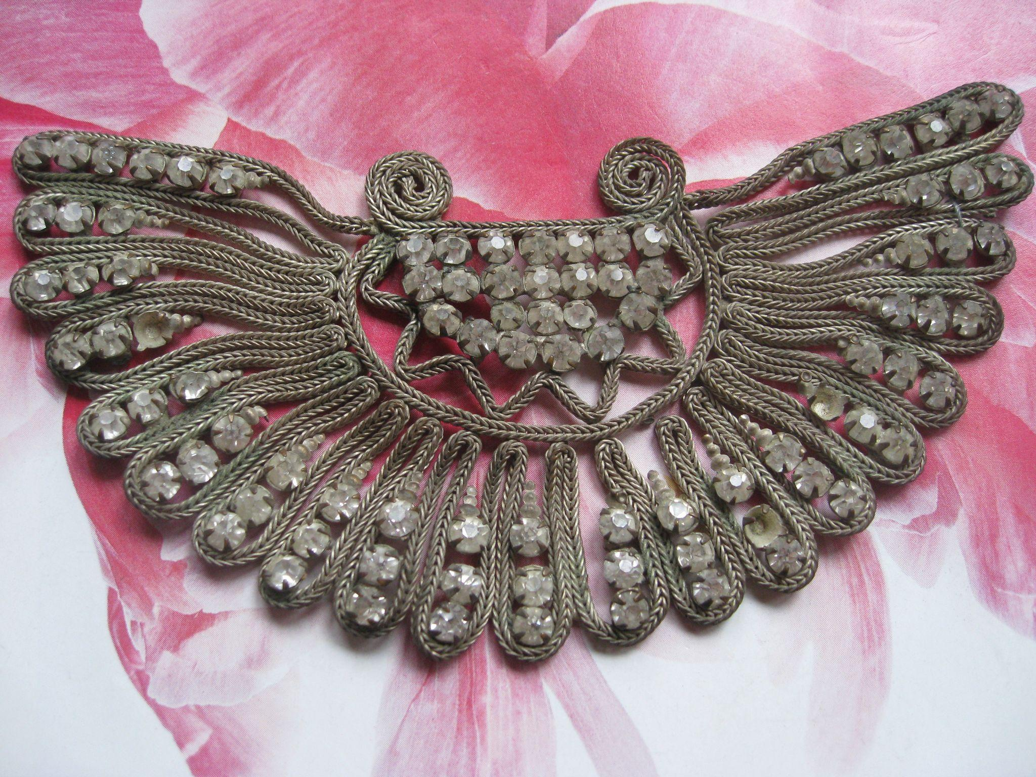 Vintage Dress Embellishment Paste Stones