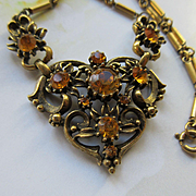 Coro 1940s Necklace