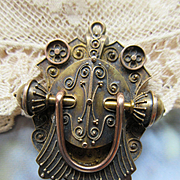 Victorian Etruscan Revival 14K Locket